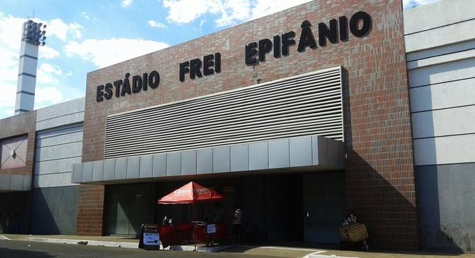 Estádio Frei Epifânio, Imperatriz, no Maranhão (Foto: Renan Morais )
