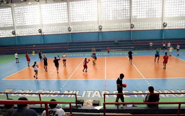Campeonato Cadete de Handebol=04-05-2012 (Foto: LIHAM/Divulgação)