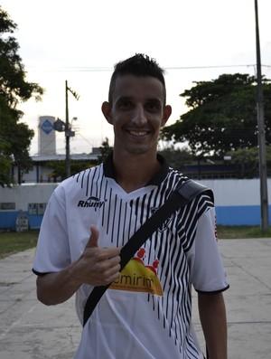 Atacante Zizu, do Atlético-ES (Foto: João Brito/GloboEsporte.com)