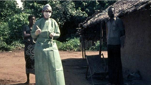 Ebola foi descoberto em 1976, em uma comunidade no antigo Zaire (Foto: BBC)