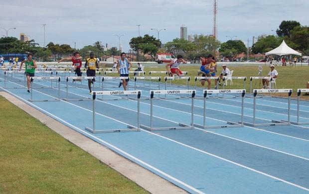 Sul Americano de Atletismo, Pista da UFPB, Paraíba (Foto: Larissa Keren / Globoesporte.com/pb)