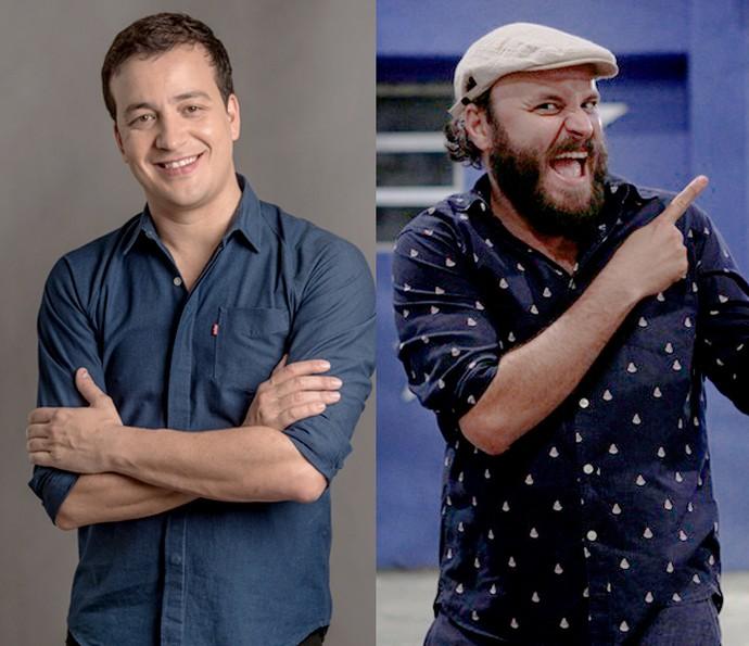 Rafael Cortez e Paulinho Serra integram o time do BBB17 (Foto: Globo/Estevam Avellar e Pedro Carrilho/Gshow)