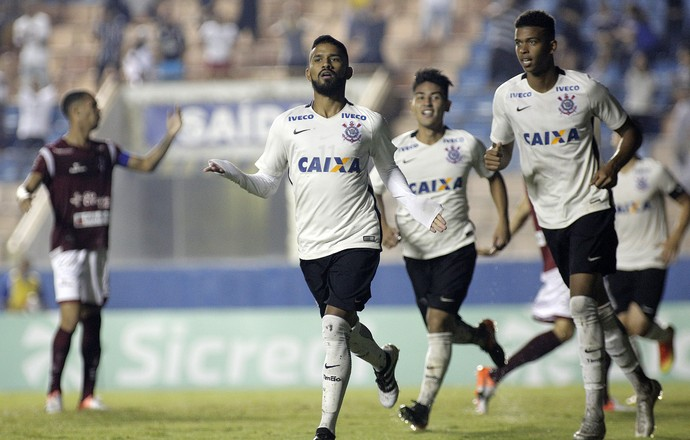 Marquinhos Corinthians x Juventus-SP Copinha (Foto: Agência Estado)