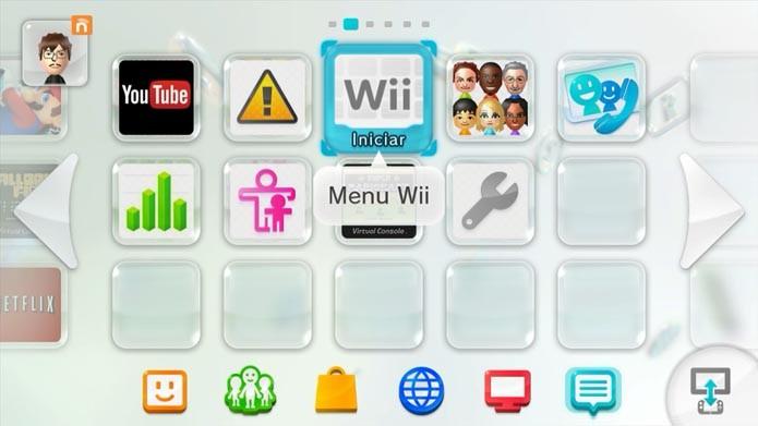 Escolha Menu Wii (Foto: Reprodução/Murilo Molina)