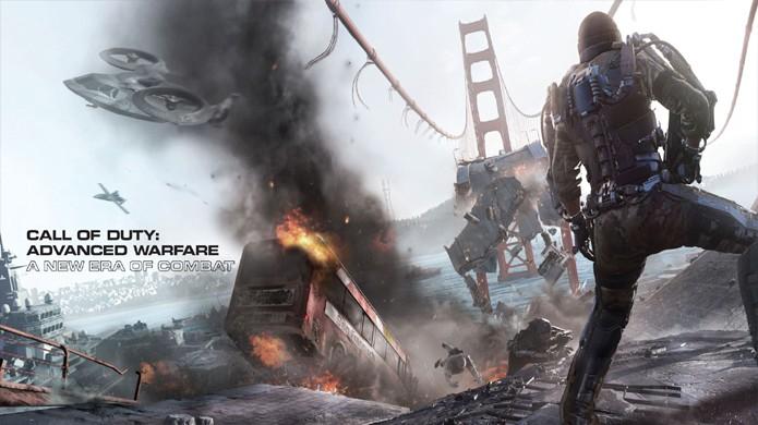 Call of Duty: Advanced Warfare da Activision deverá ser um dos maiores títulos da E3 2014 (Foto: videogamesblogger.com)