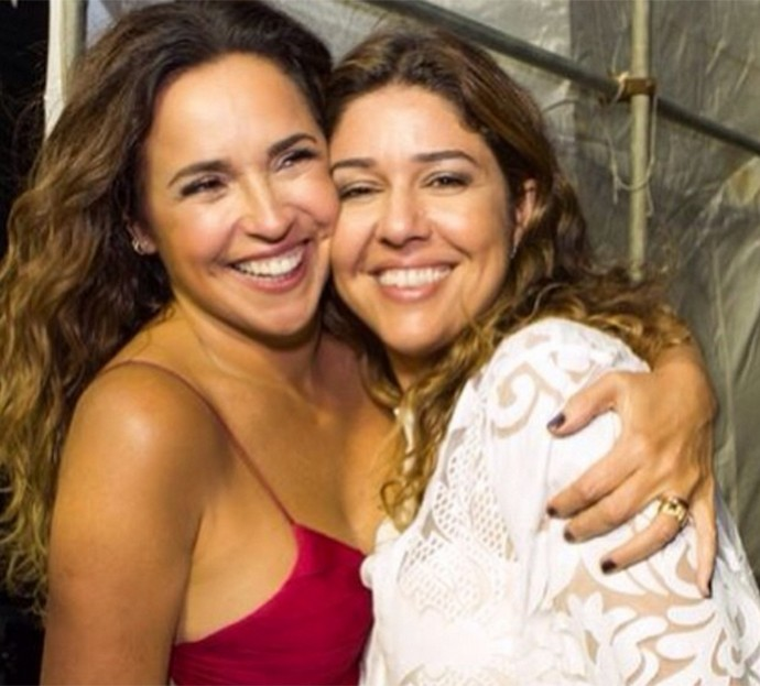 Daniela Mercury com a esposa, Malu Verçosa (Foto: Reprodução/Internet)