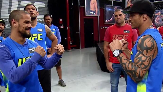 Matheus Adamas e Reginaldo Vieira fazem combate no próximo episódio do TUF Brasil 4 (Foto: Reprodução)