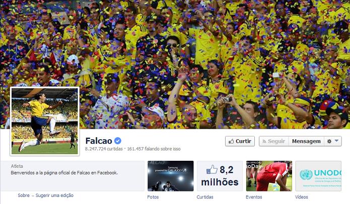Falcão do Monaco tem 8,158,027 de fãs no Facebook (Foto: Reprodução/Facebook)