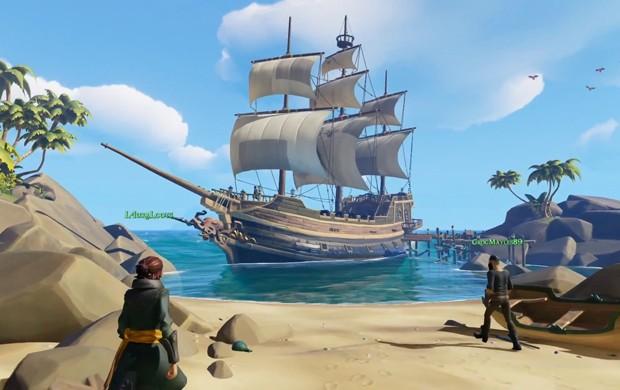 'Sea of Thieves' é o novo game da Rare, estúdio criador de clássicos como 'Banjo-Kazooie' e 'Perfect Dark' (Foto: Divulgação)