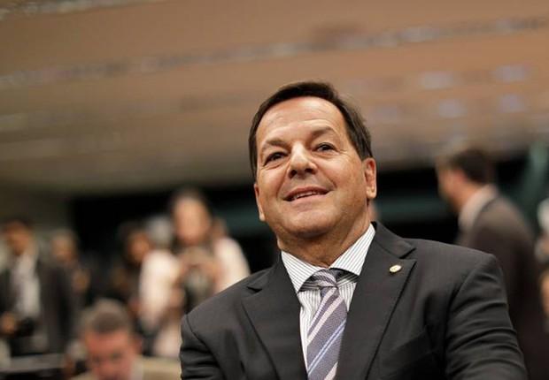 O deputado federal Sergio Zveiter (PMDB-RJ), relator da denúncia contra o presidente Michel Temer que pode ser julgada na CCJ (Foto: Ueslei Marcelino/Reuters)