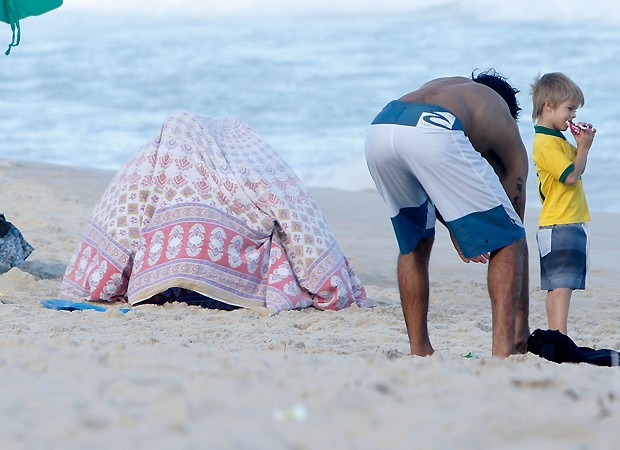Fernanda e Rodrigo (Foto: Gil Rodrigues/FotoRio News)