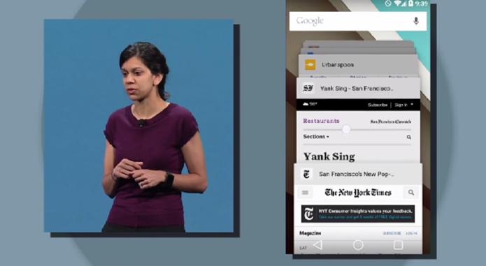 Android L foi apresentado pelo Google com novidades no design e segurança (Foto: Reprodução/Google)