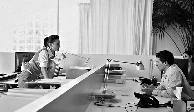 Como o lugar que cada funcionário ocupa no escritório determina seu desempenho