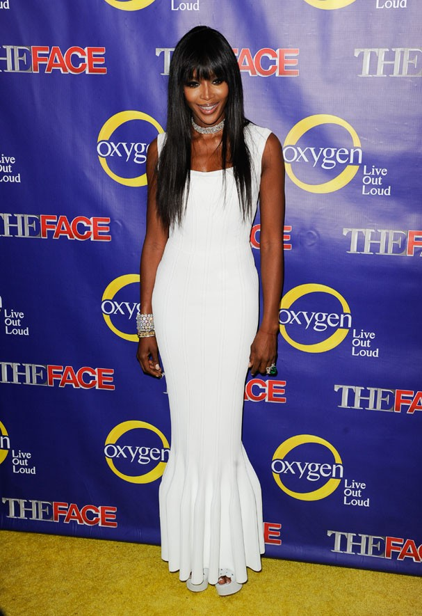 "NEW YORK, NY - FEBRUARY 05:  Model Naomi Campbell attends ""The Face"" Series Premiere at Marquee New York on February 5, 2013 in New York City.  (Photo by Dave Kotinsky/Getty Images) (Foto: Getty Images)"