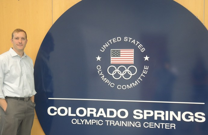 CT de Colorado Springs diretor Aron McGuire Olimpíadas (Foto: David Abramvezt)
