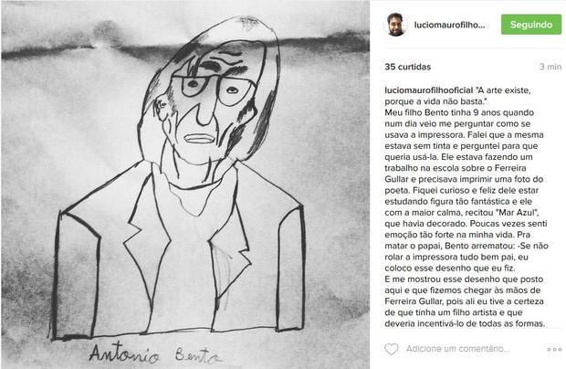 Lucio Mauro Filho (Foto: Reprodução/Instagram)