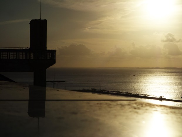 Vista do Elevador Lacerda (Foto: Egi Santana/G1)