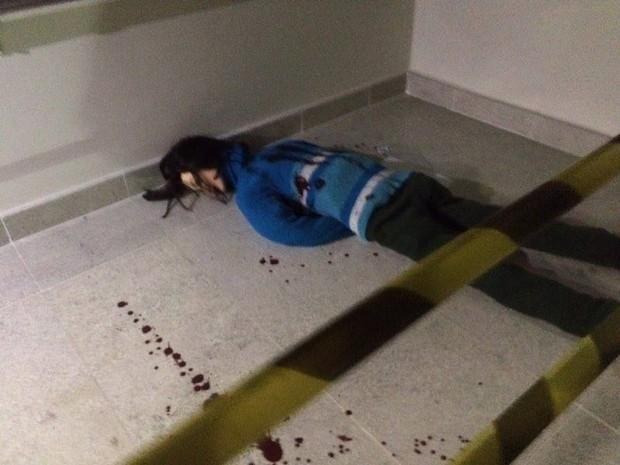 Professor faz CSI em escola e desafia estudantes a resolverem crimes cenográficos (Foto: Erivaldo Junior/Arquivo Pessoal)