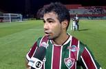 """""""Me sinto muito bem"""", afirma Sornoza após atuar pelo Flu na vitória sobre o Macaé"""