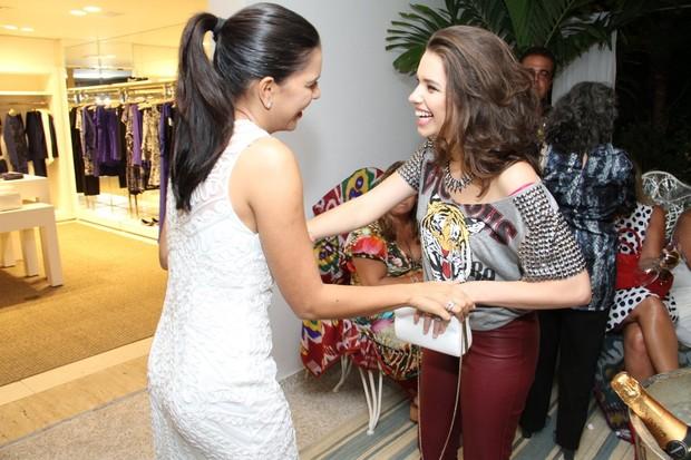Mariana Rios e Bruna Linzmeyer (Foto: Thyago Andrade/Foto Rio News)