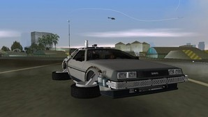 GTA Mod: Back To The Future Hill Valley