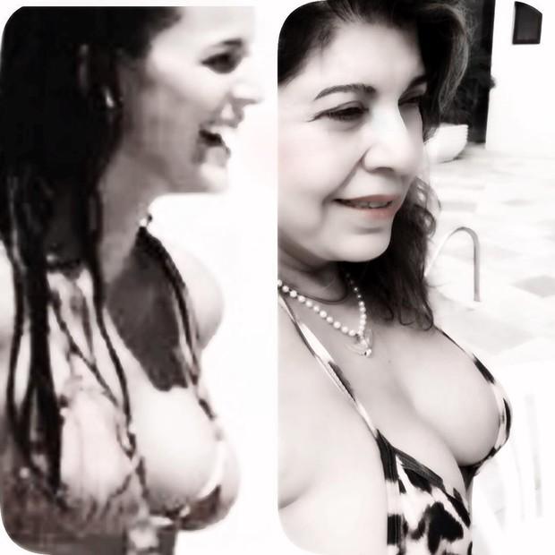 Roberta Miranda se compara a Bruna Marquezine (Foto: Reprodução do Instagram)