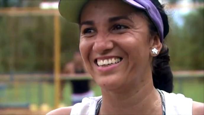 Erlane Mota, jogadora de vôlei do Acre (Foto: Reprodução/TV Acre)