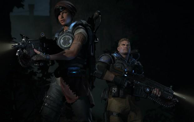 'Gears of War Ultimate' foi treino para 'Gears 4', diz produtor do game E32015_gears4-g1