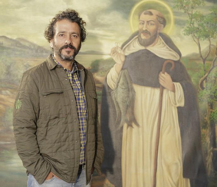 Marcos Palmeira, que vive o vilão Cícero, também marca presença (Foto: Inácio Moraes/ Gshow)