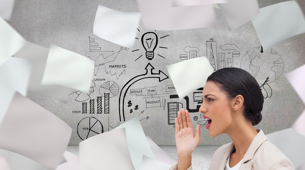 O trabalho em equipe a definição de metas é essencial para a organização da empresa (Foto: Thinkstock)
