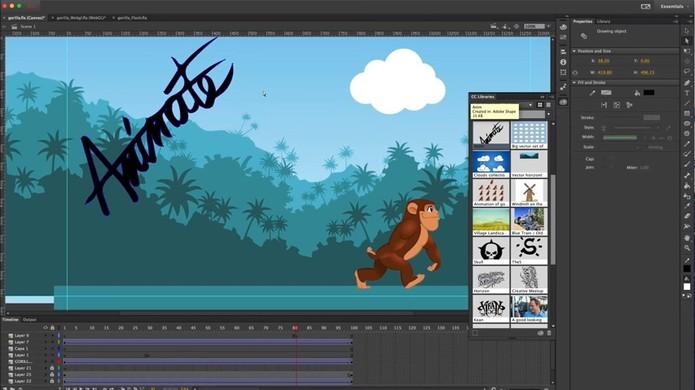 Adobe Animate CC é o novo Flash Professional (Foto: Reprodução/Adobe)