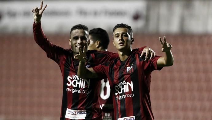Ituano x Linense - Campeonato Paulista 2017, atacante Marcelinho (Foto: Miguel Schincariol/ Ituano FC)