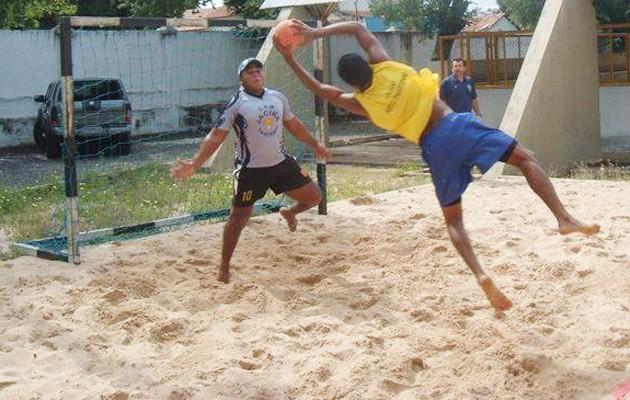 handebol de areia piaui treino (Foto: Divulgação)