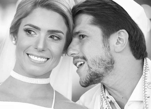 Os noivos Bia Feres e Maurício Netto (Foto: Reprodução/Instagram)
