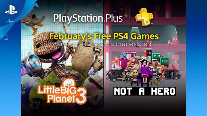 Os destaques da PlayStation Plus de fevereiro (Foto: Divulgação/Sony)