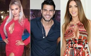 Veridiana Freitas, Marcelo Bimbi e Nicole Bahls (Foto: Instagram / Reprodução | Fred Pontes / Divulgação)