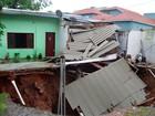 Chuvas danificam 1,3 mil casas e 555 pessoas deixaram residências no RS