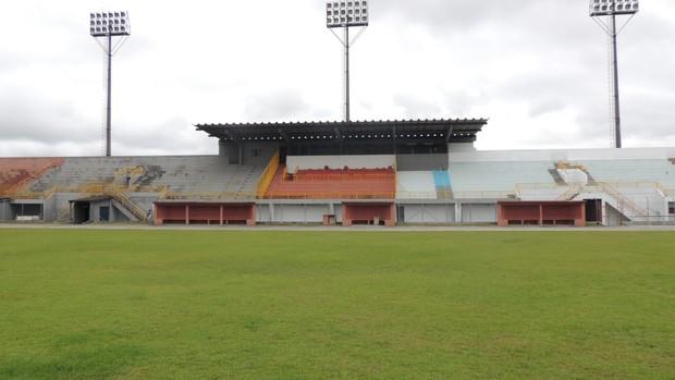 Estádio Suzanão Suzano Usac Ecus (Foto: Rodrigo Mariano)