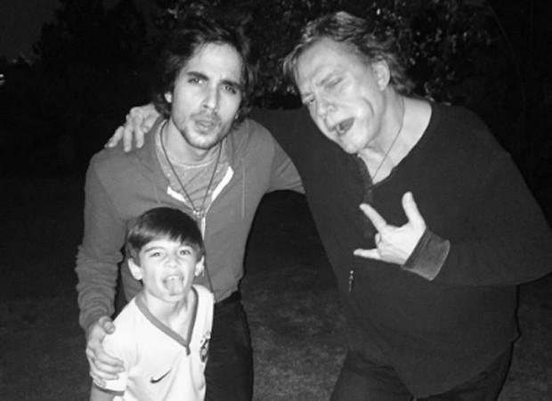 Záion, Fiuk e Fábio Jr. (Foto: Reprodução/Instagram)