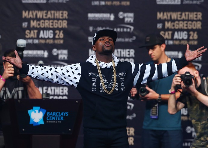 Floyd Mayweather May-Mac Brooklyn (Foto: Getty Images)