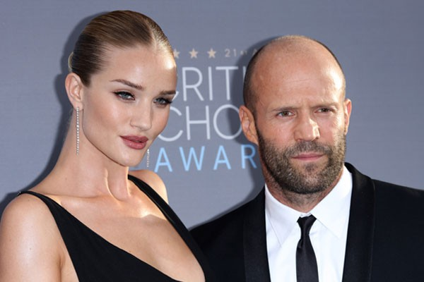 Rosie Huntington Whiteley e Jason Statham (Foto: Getty Images)