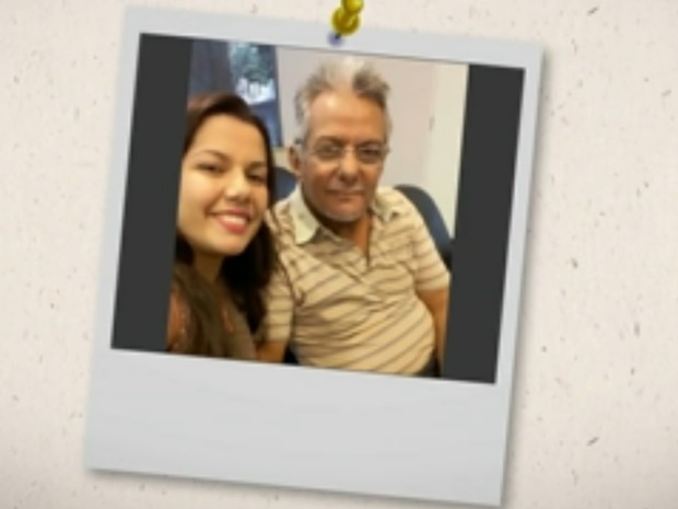 Antônia Marcela conheceu Moacir Guedes aos 18 anos, em Goiânia, Goiás (Foto: Reprodução/TV Anhanguera)