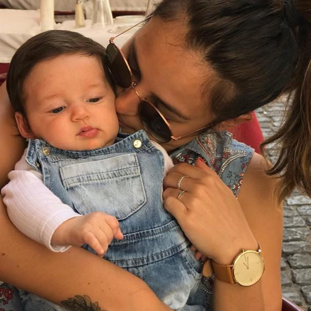 Yanna e Madalena (Foto: Instagram/Reprodução)