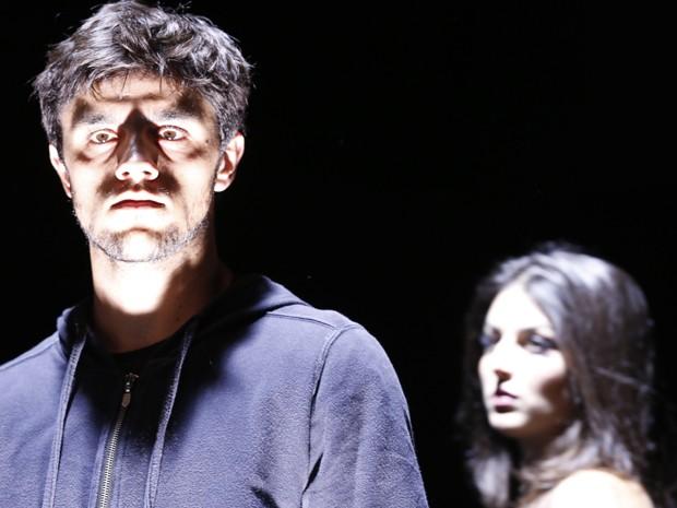 Foco na expressão dos dois atores! Eles arrasam, né, gente?!  (Foto: Ellen Soares / Gshow)