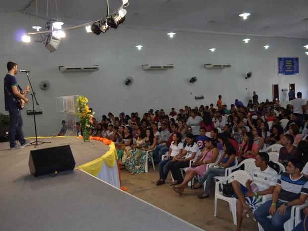 Evento 'Eu Escolhi Esperar' é realizado em Boa Vista (Foto: Valéria Oliveira/ G1)
