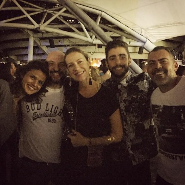 Luana Piovani e amigos (Foto: Reprodução/ Instagram)