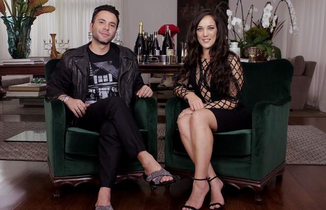 Matheus Mazzafera com Adriana Birolli (Foto: Divulgação)