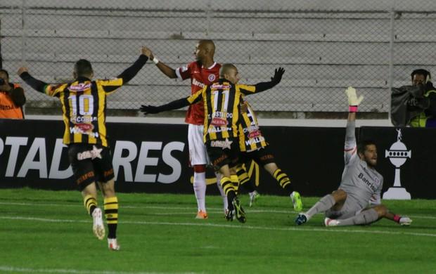 The Strongest x Inter Libertadores Inter (Foto: Diego Guichard/GloboEsporte.com)