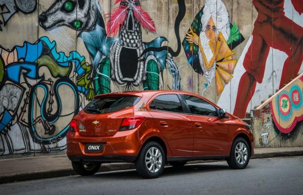 Chevrolet Onix Lollapalooza (Foto: Divulgação)