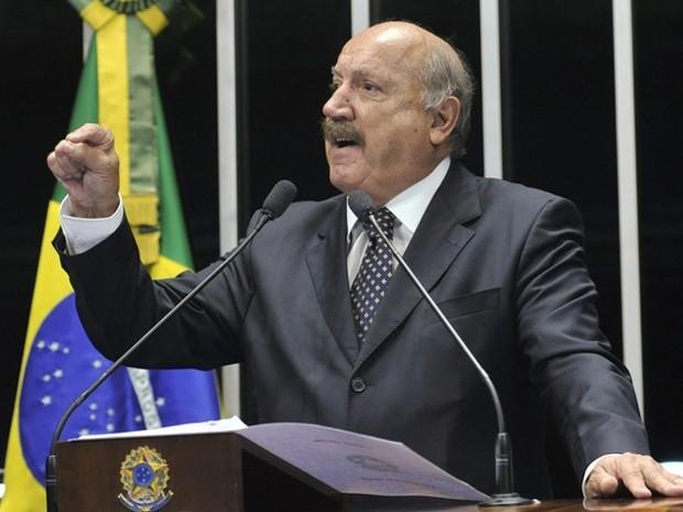 Luiz Henrique morreu em Joinville neste domingo (Foto: Senado Federal/Divulgação)